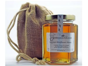 DrBeekeeper English Wildflower Honey with Gift Jute Bag