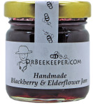 DrBeekeeper Handmade Blackberry & Elderflower Jam