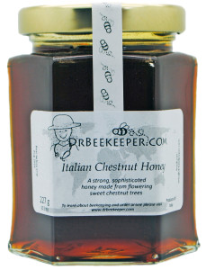 DrBeekeeper Italian Chestnut Honey