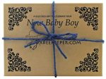 DrBeekeeper New Baby Boy Gift Box