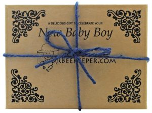 DrBeekeeper New Baby Boy Gift Box