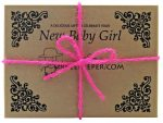 DrBeekeeper New Baby Girl Gift Box