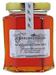 DrBeekeeper New Zealand Clover Honey