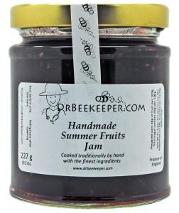 DrBeekeeper Handmade Summer Fruits Jam