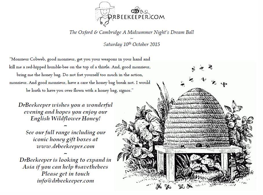 The Oxford & Cambridge A Midsummer Night's Dream Ball