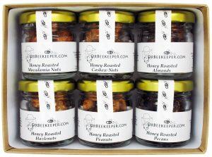 DrBeekeeper Honey Roasted Nut Box